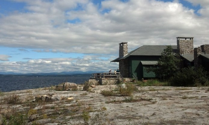 Flat Rock Camp has perched on the shore of Lake Champlain in Willsboro, N.Y., for more than a century.